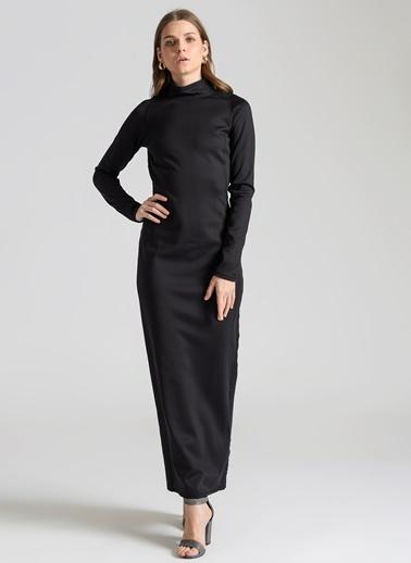 Ebru Günay Elbise Siyah